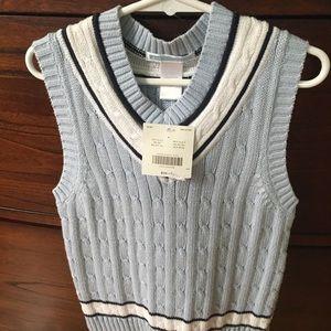 Boys Janie and Jack sweater vest